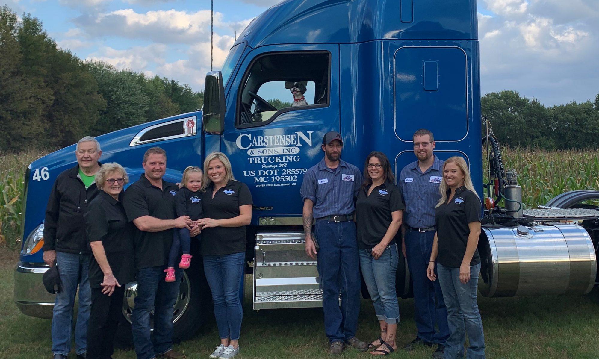 Carstensen & Sons Trucking, Inc.